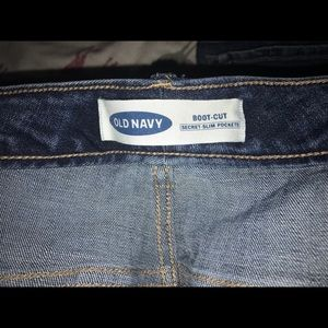 Old Navy Jeans - NWOT washed never worn ON plus 26s bootcut jeans